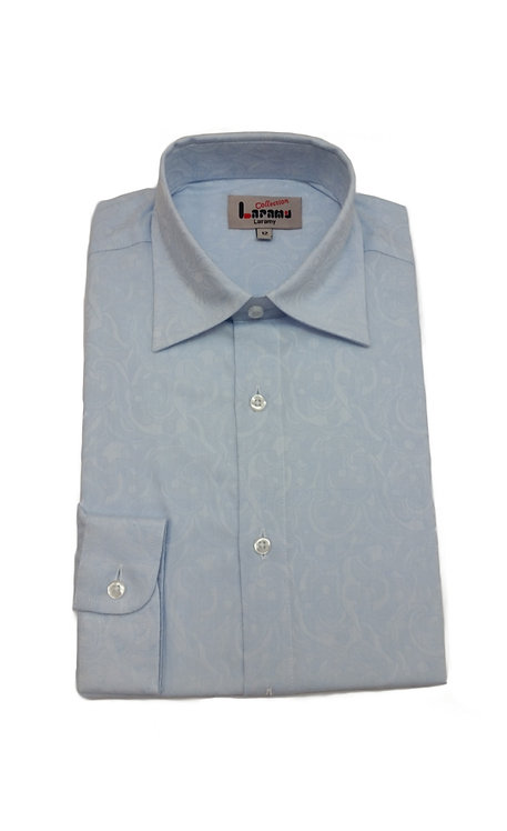 875 BOYS SKY PAISLEY SHIRT