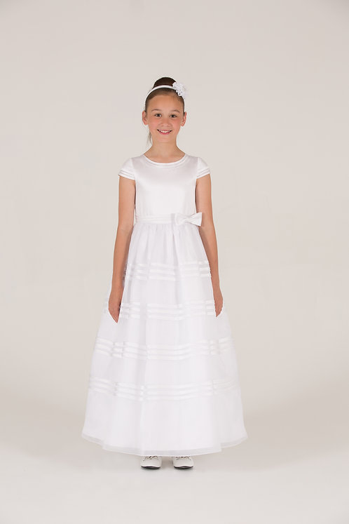 STYLE NO 6100 COMMUNION/ FLOWER-GIRL DRESS