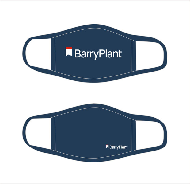 Barry Plant Face Mask