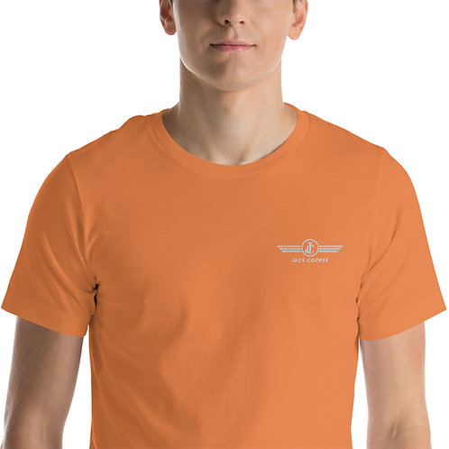 Short-Sleeve Unisex T-Shirt: Oranges and Greens