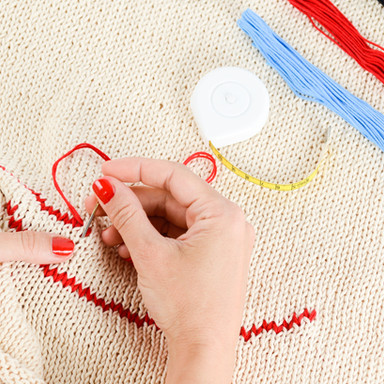Embroidery in Progress