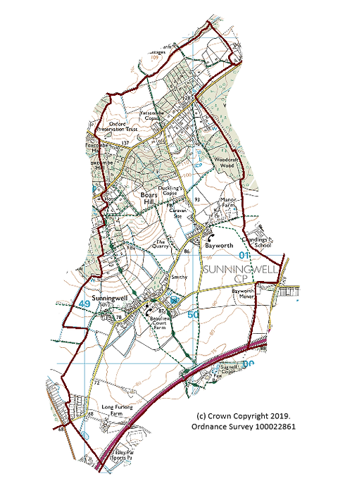 Sunningwell Parish map for website.png