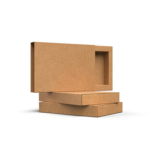 Kraft opakowanie z szufladką