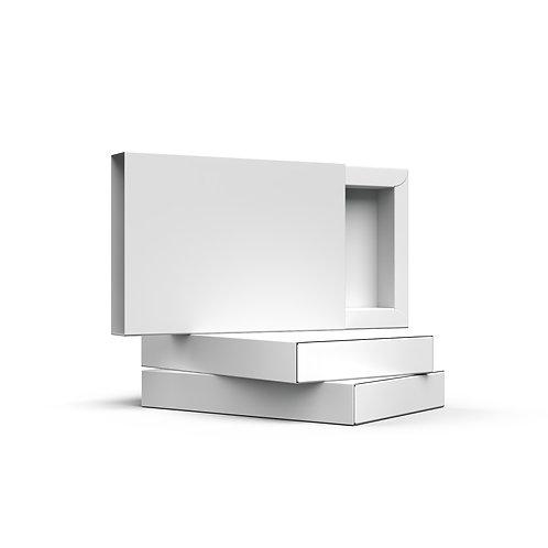 Białe opakowanie z szufladką
