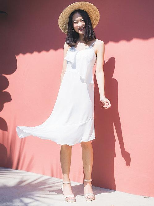 Fruity Dress - White