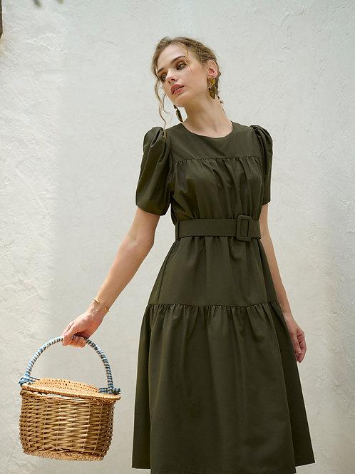 Vida Dress -  Forest Green