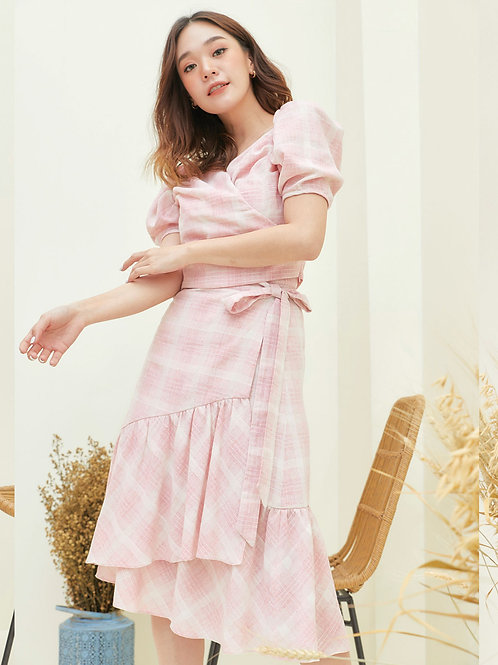 Tulip  Skirt - Pink Scott