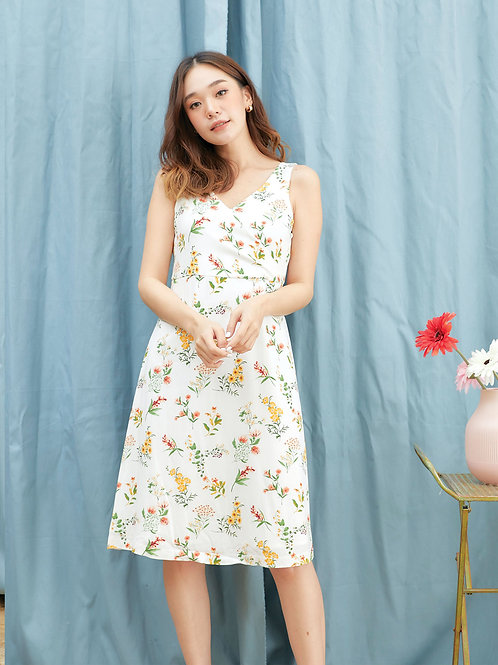 Jelly dress  - Flower cream