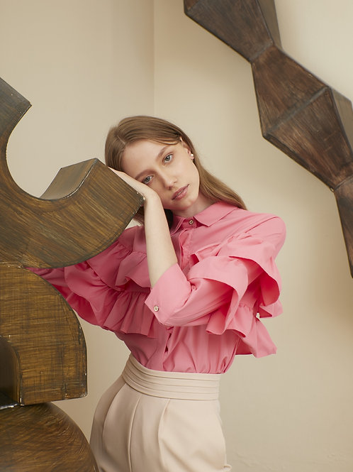 Celine Shirt - Rose Pink
