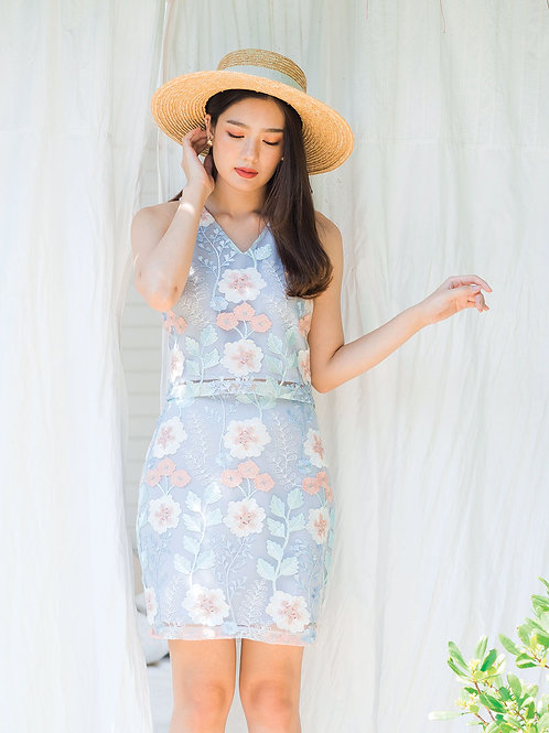 Alice Top - Blooming Flower Lace