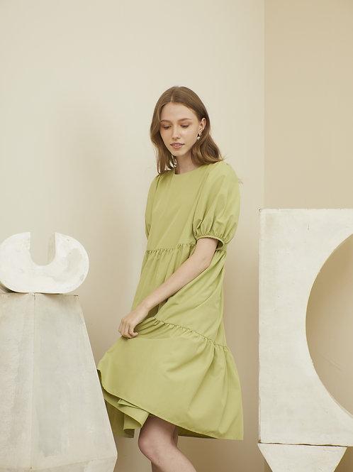 Charlotte Dress - Avocado