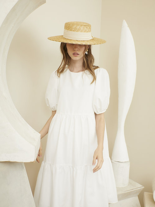 Charlotte Dress - Off-White