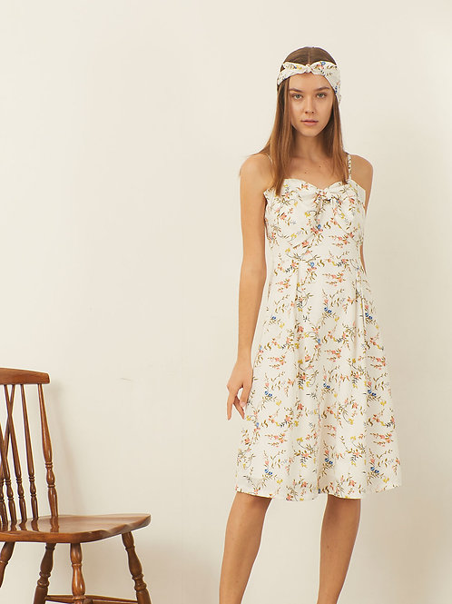 Dreamer Dress - White flower