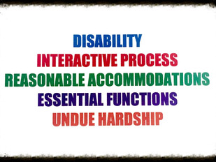 The Lexicon of Disability Discrimination: 5 Terms Every Employer Needs to Know