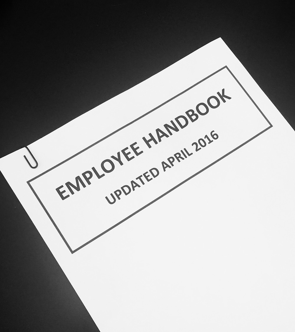 Employee Handbook April 2016 by Shivani Sutaria - Sutaria Law in San Mateo County for Employers
