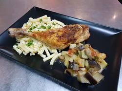 13/11 : Cuisse de poulet grillée
