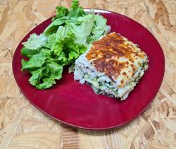 Lasagnes au poisson et brocolis