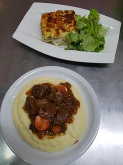 14/11 : Boeuf carottes, purée panais