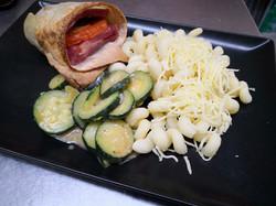 wrap jambon mozzarella
