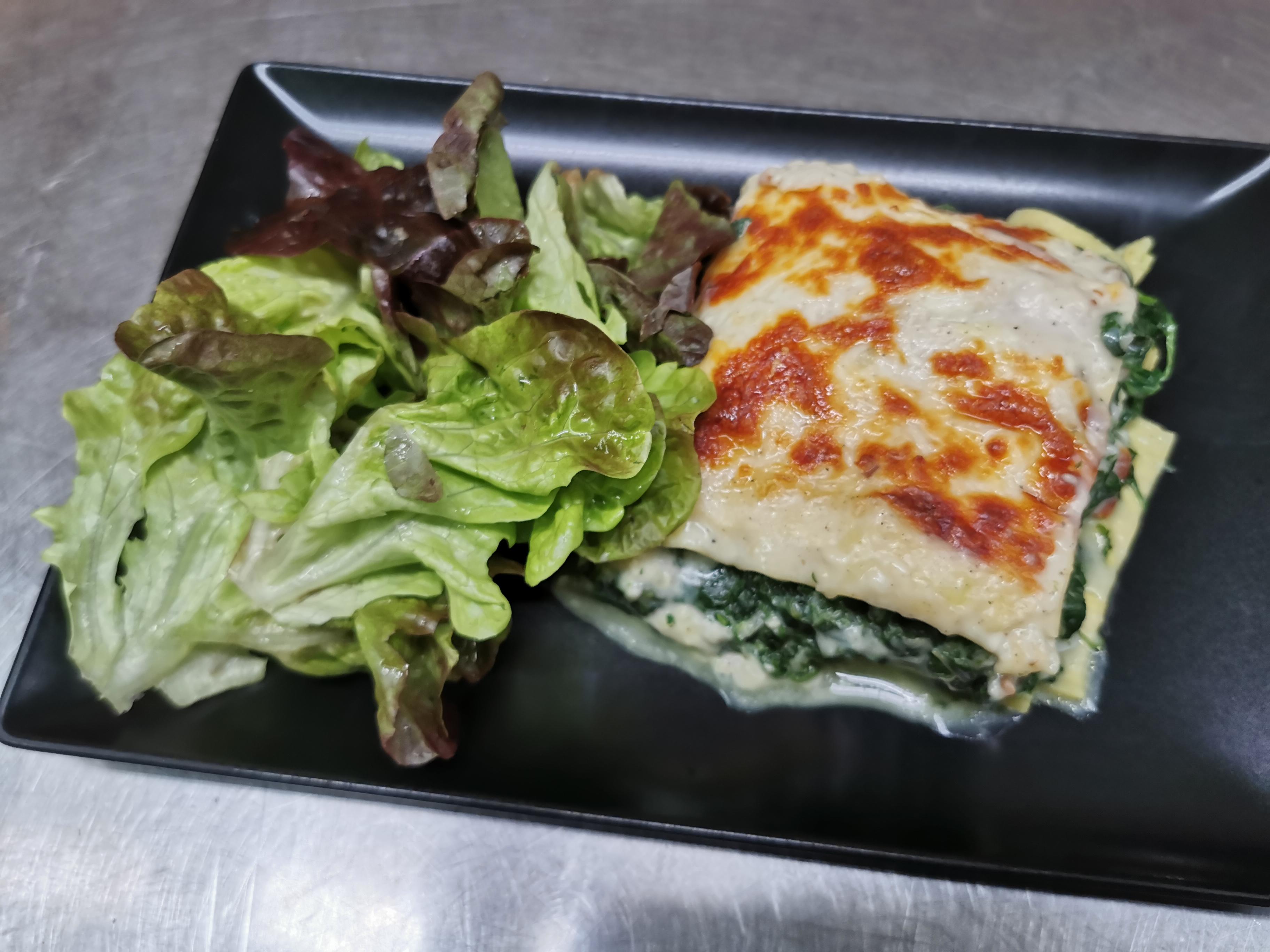 lasagnes cabillaud