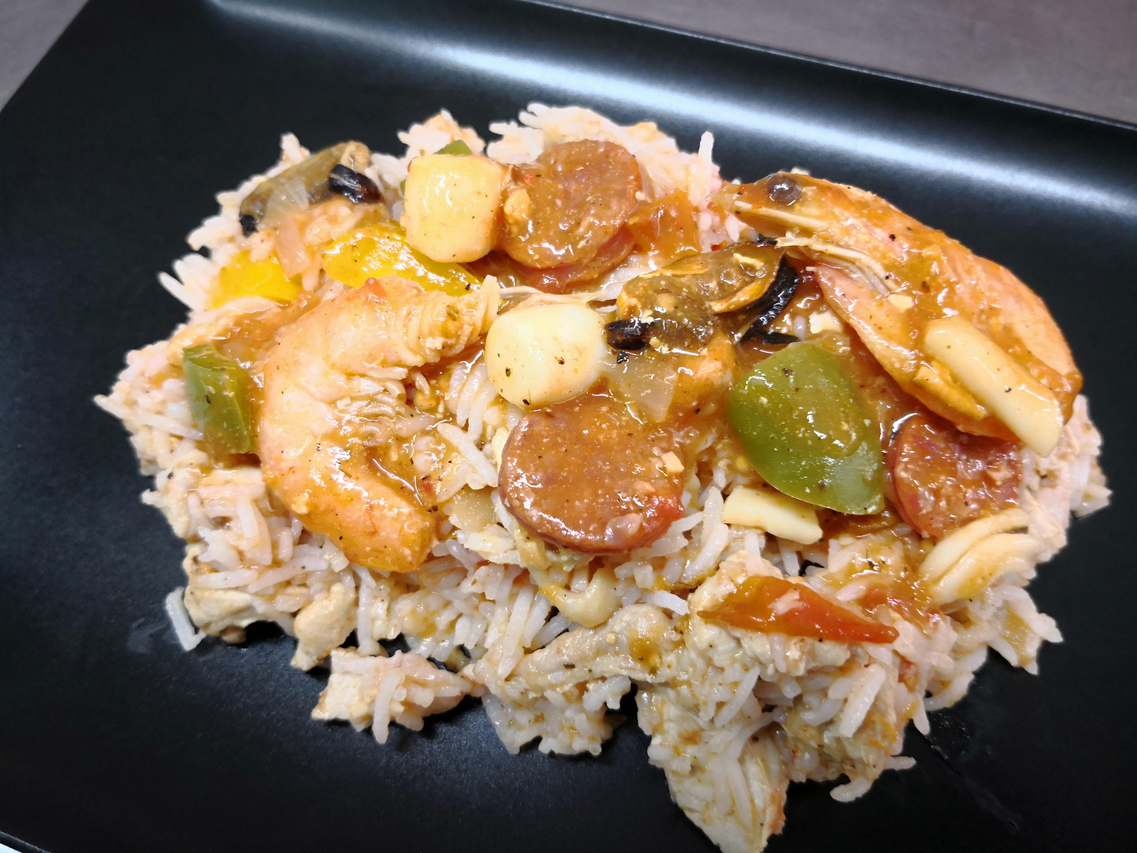 riz façon paëla