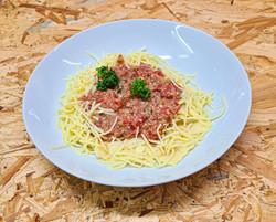 Ravioli à la viande sauce bolognaise