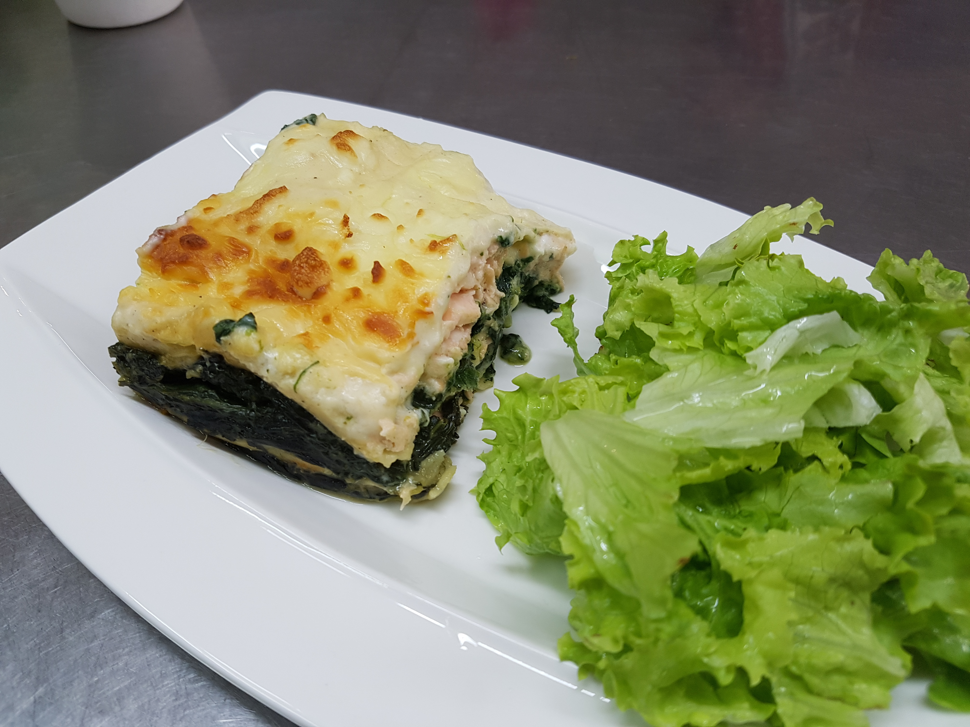 30/05 : Lasagnes épinards ricotta