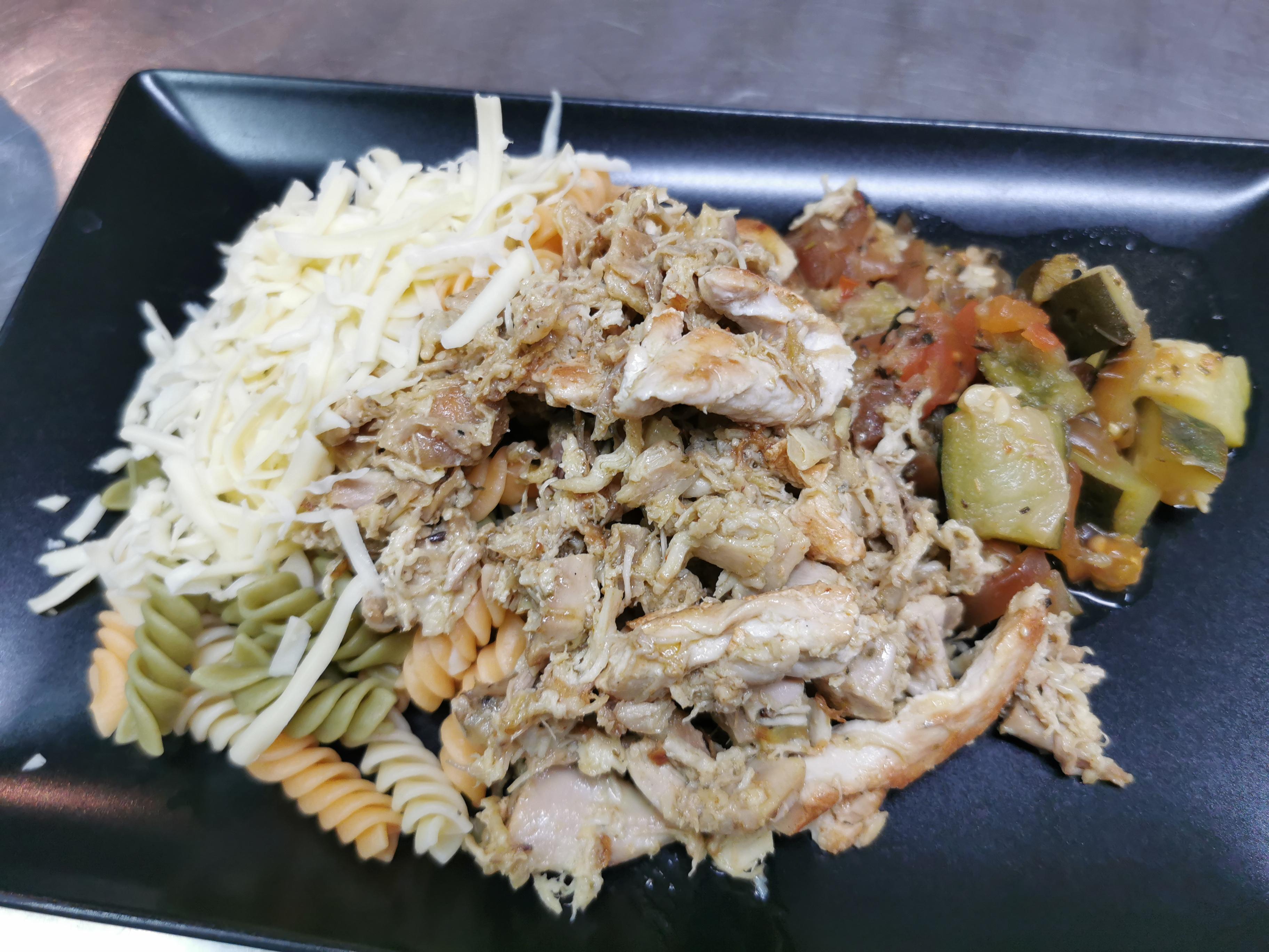 fricassée poulet au basilic