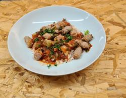 rougail saucisses et riz basmati