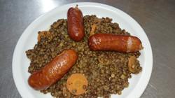 01/03 : Lentilles sauce Montbéliard
