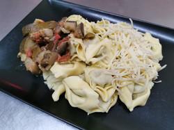 tortellini ratatouille aux olives