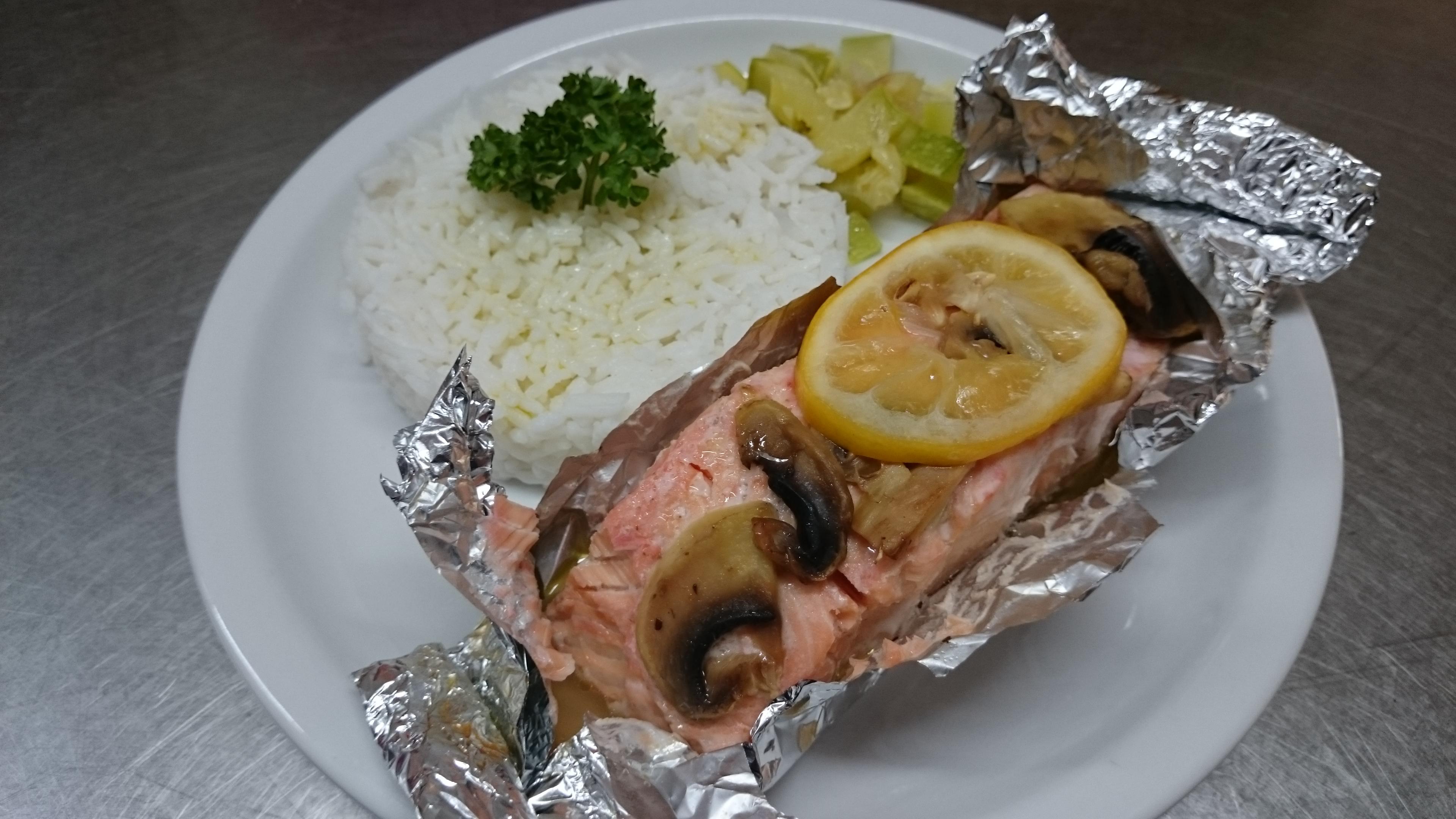saumon papillotte