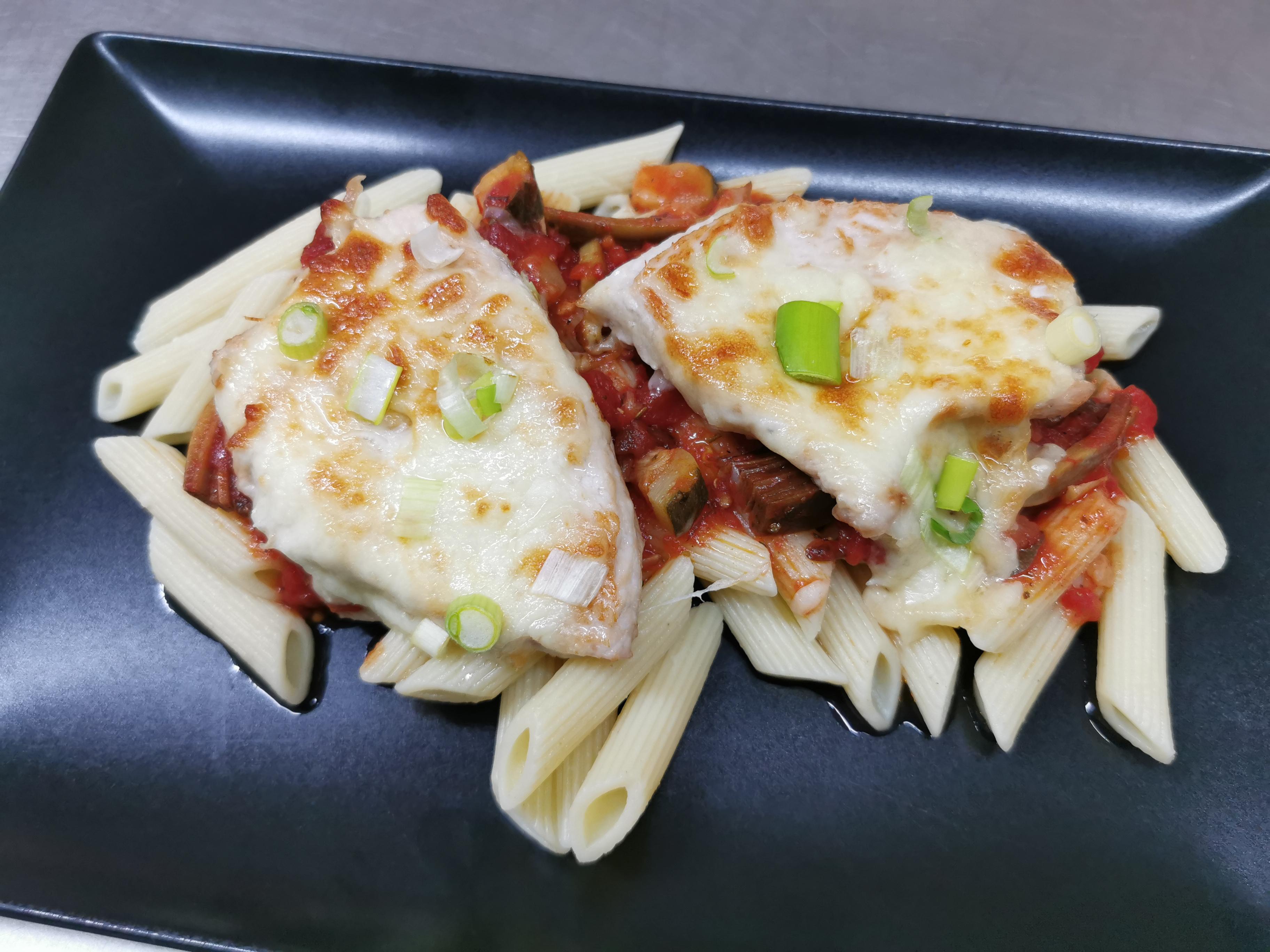 filet dinde à l'italienne