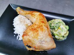 19/05 cuisse de poulet grillée