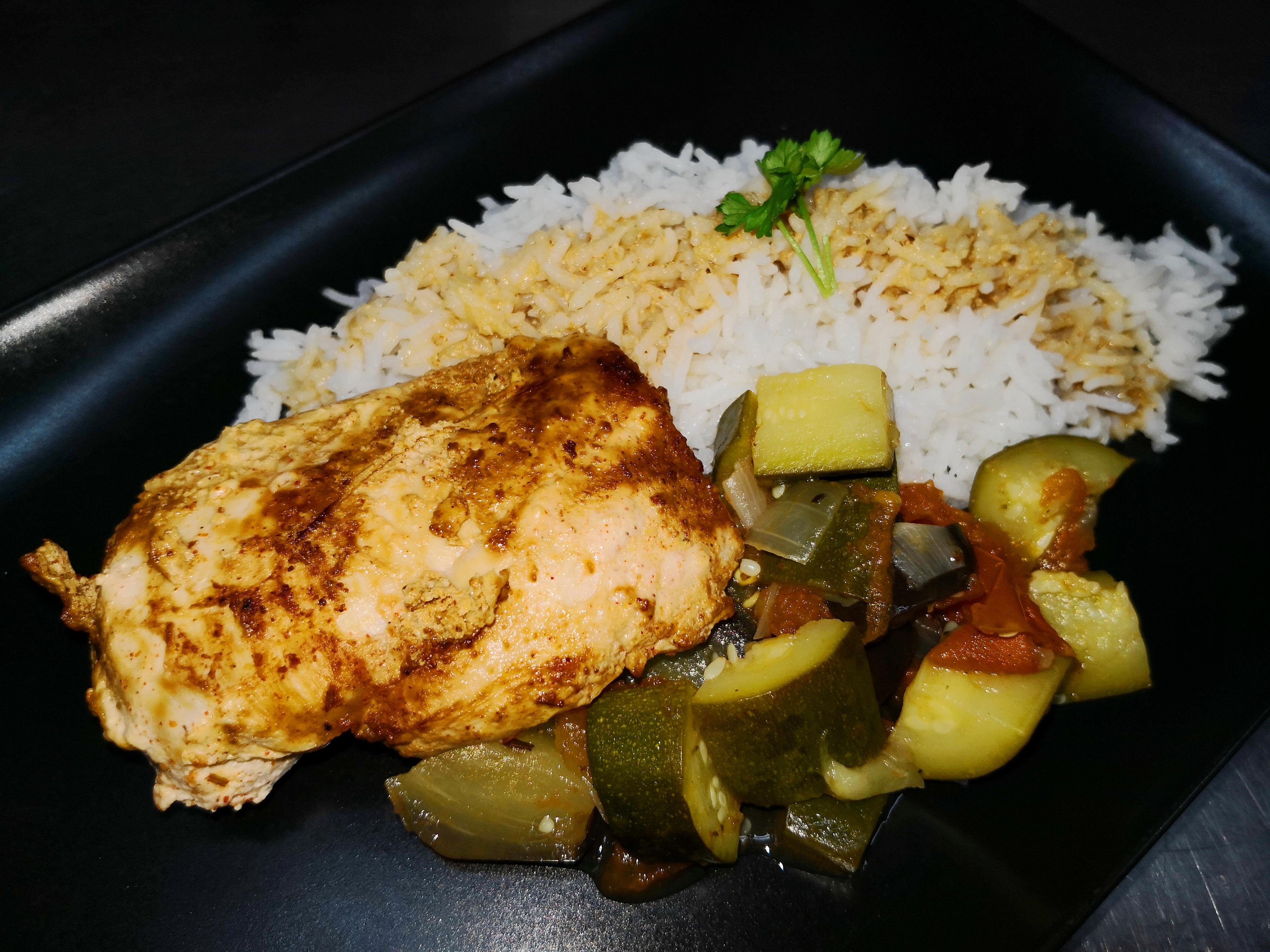 Filet poulet mariné au citron/tandoo