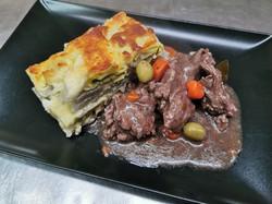 daube et gratin raviolis blettes
