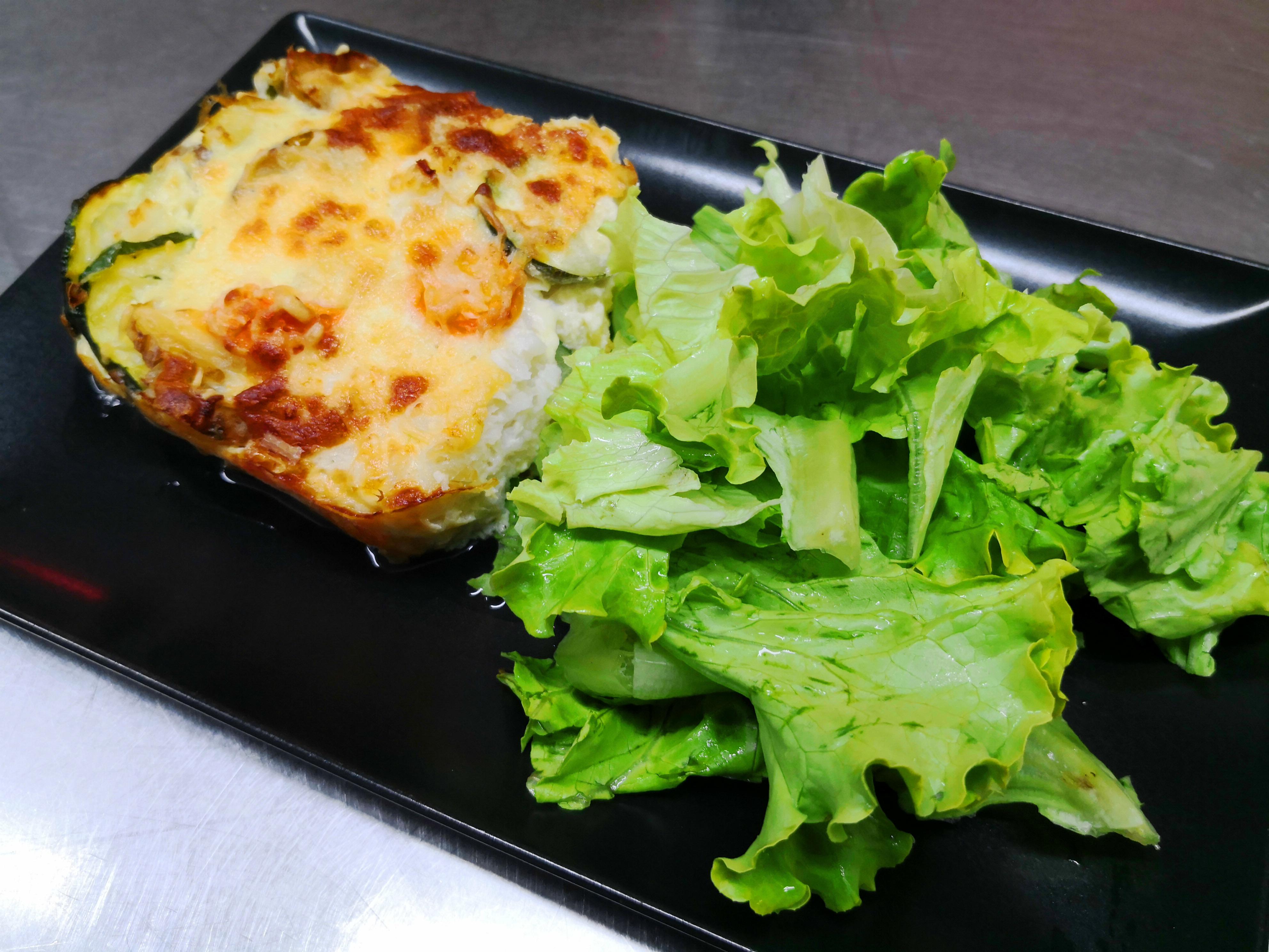 cafoutis cabillaud/légumes