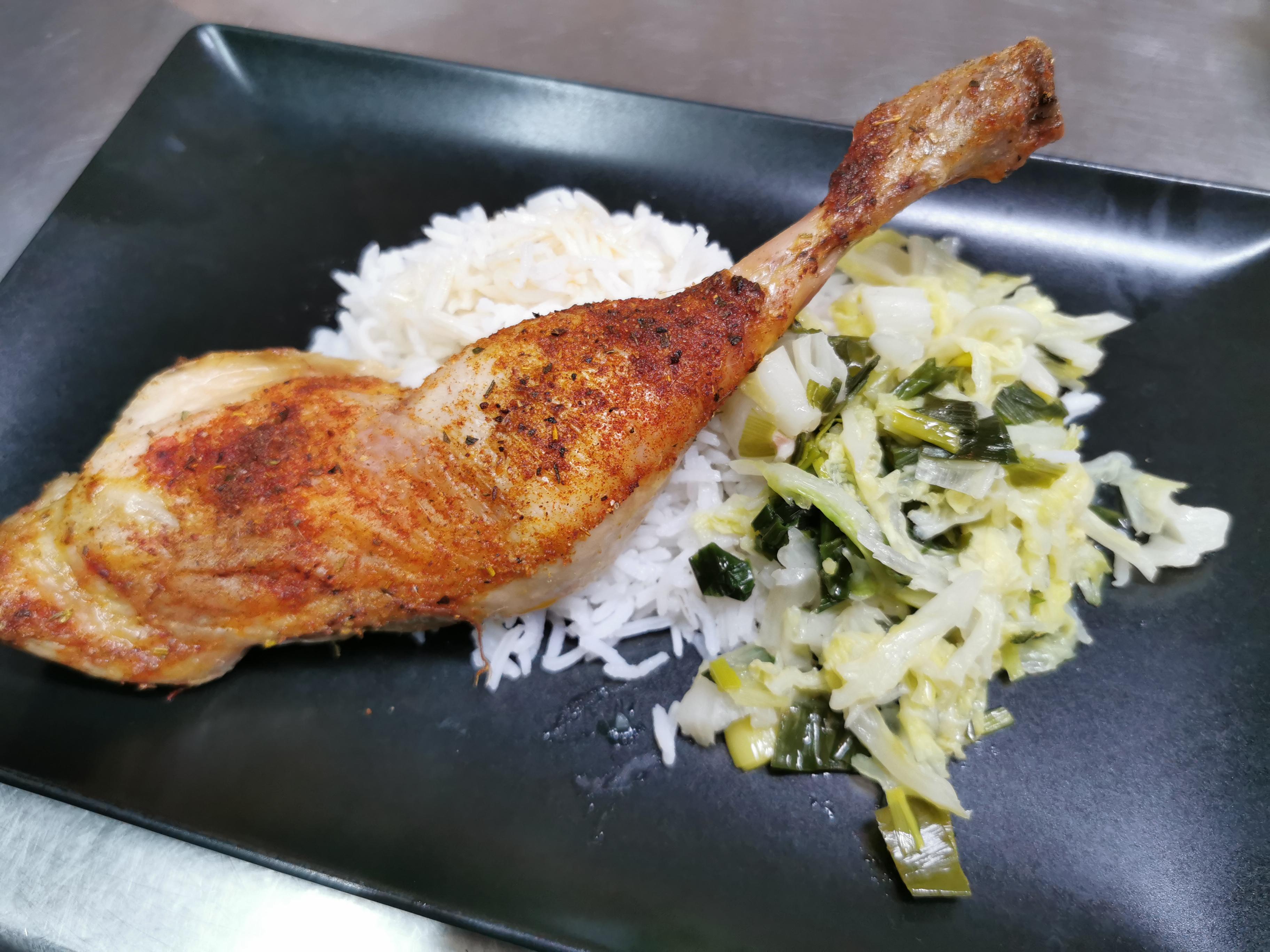 cuisse poulet grillée