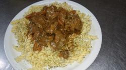 12/03 : Curry de veau, tagliatelles