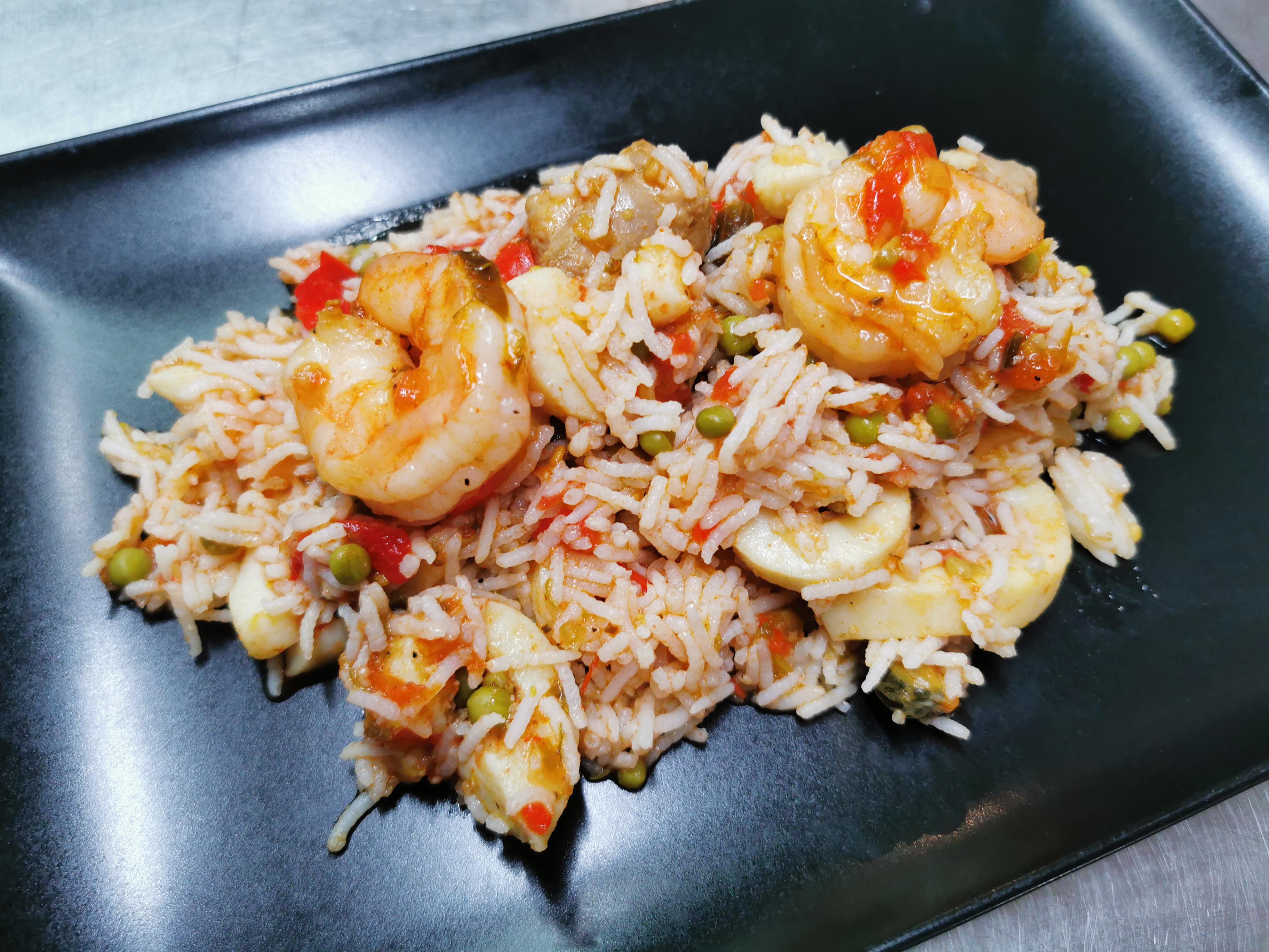 riz façon paella