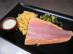 filet truite lentilles corail