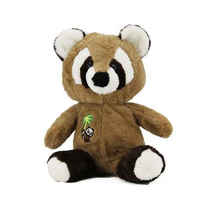 Brown Raccoon Stuffed Animal