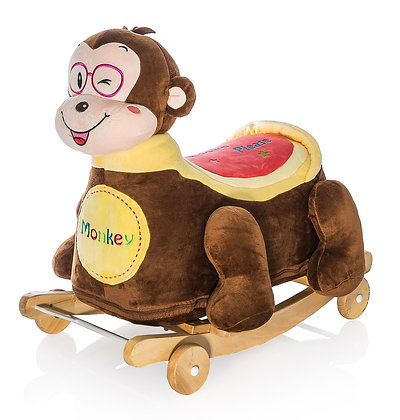 Dimpy Stuff Monkey Roller Ride-on