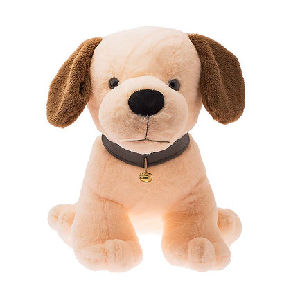 Dimpy Stuff Beige Dog Stuffed Animal
