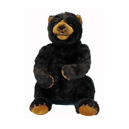 Black Polar Bear Stuffed Animal