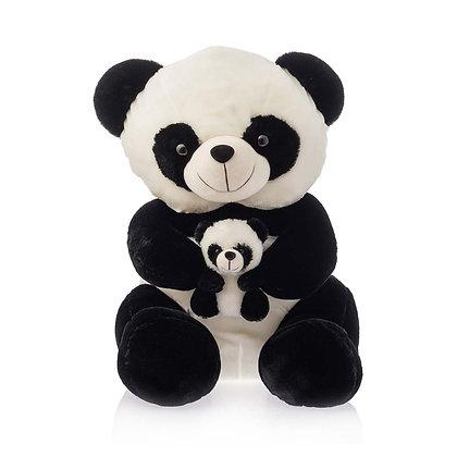 Panda with Baby Plush Animal