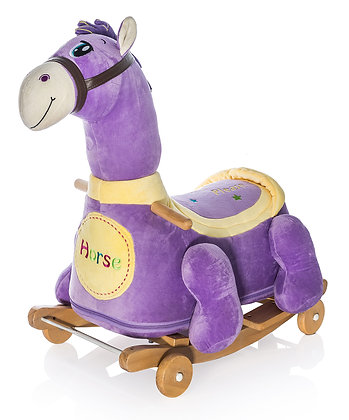 Dimpy Stuff Horse Roller Ride-on Side