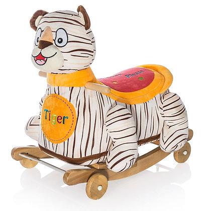Dimpy Stuff Tiger Roller Ride-on Side