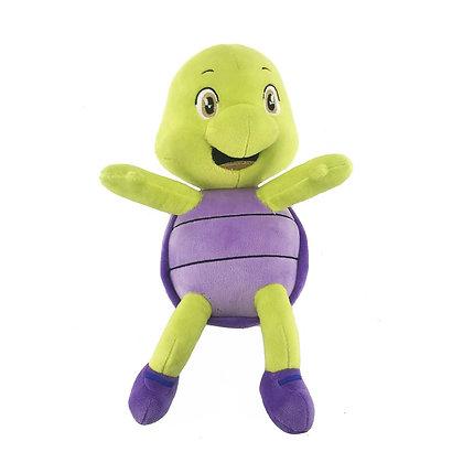 Dimpy Stuff Purple Turtle Plush