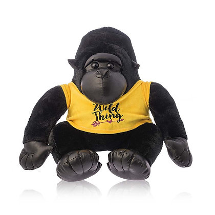 Dimpy Stuff Gorilla with Yellow T-shirt